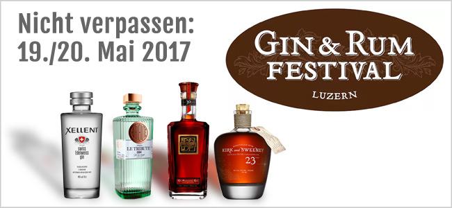 Das Gin und Rum Festival in Luzern